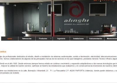 Programación Página web DA Electroacústica
