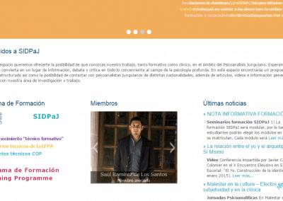 Programación Página web Sidpaj