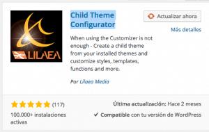 Plugins WordPress para crear un tema hijo