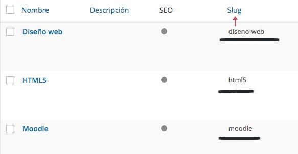 wp_query para varias categorías