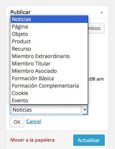 Convertir páginas en entradas en WordPress