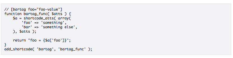 Shortcodes en WordPress