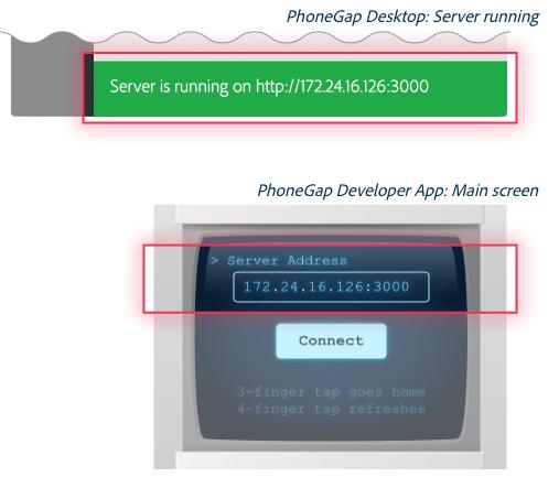 Server Address