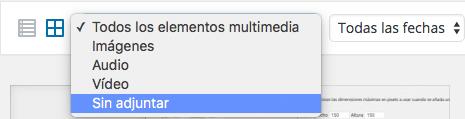 Eliminar imágenes no utilizadas en WordPress