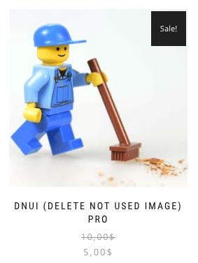 Borrar imágenes de WordPress - Plugin DNUI