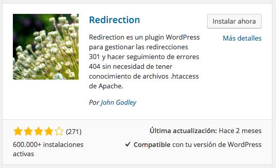 GestionarRedirecciones301