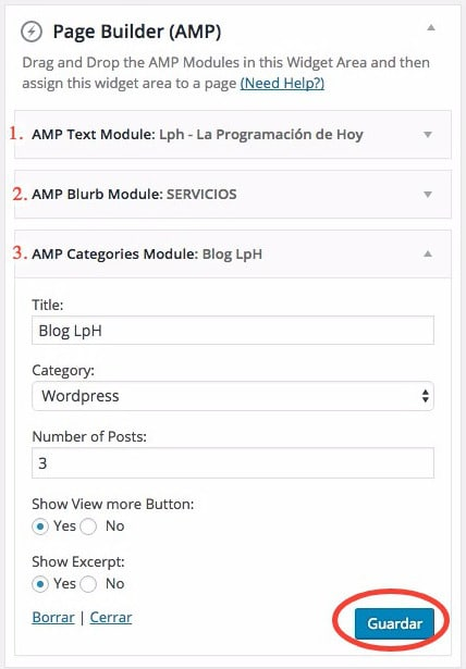 AMPforWP-page-builder-editar