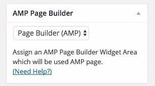 AMPforWP-page-builder-pagina