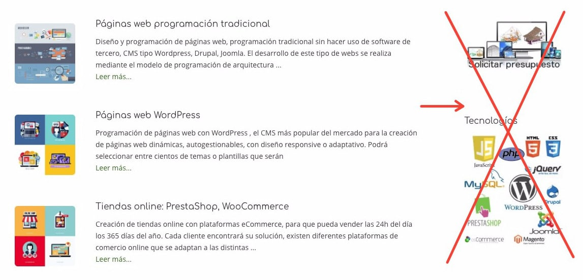 Eliminar sidebar de temas o páginas WordPress - Quitar barras laterales