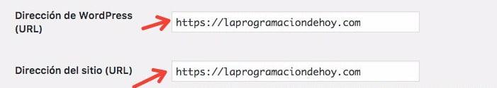 Cambiar de HTTP a HTTPS