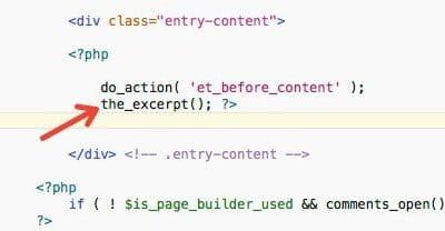 Cómo cambiar longitud extractos WordPress (excerpt)