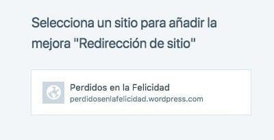 Redireccionar wordpress.com a dominio propio