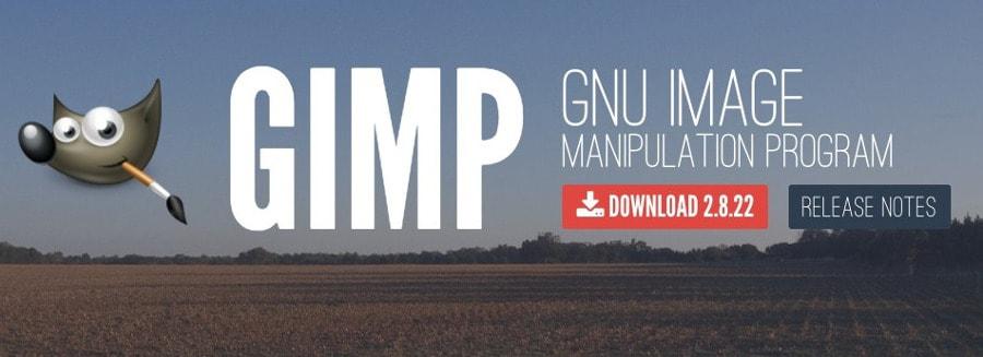 Gimp Software de edición de imágenes