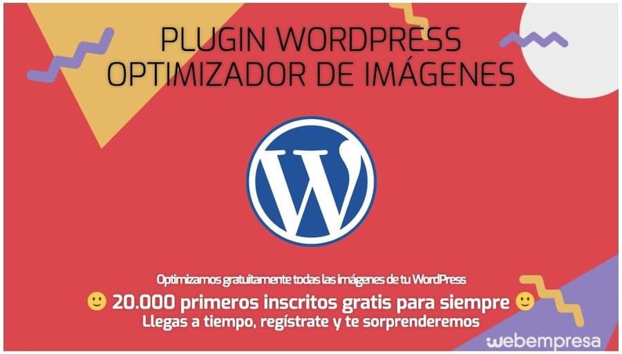 Plugin WP para optimizar imágenes de WebEmpresa